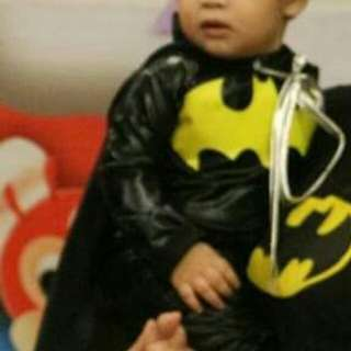 BATMAN COSTUME for 1 year old.