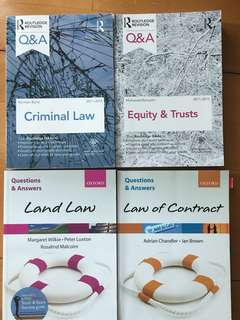 Law Express / Q&A - Land Law / Contract Law / Tort / Criminal Law / Equity & Trusts