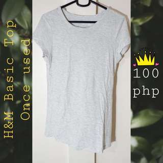 H&M Plain Top