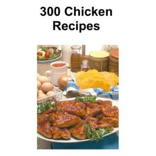300 Chicken Recipes eBook