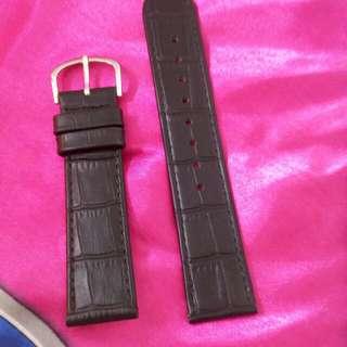 真皮錶帶22mm