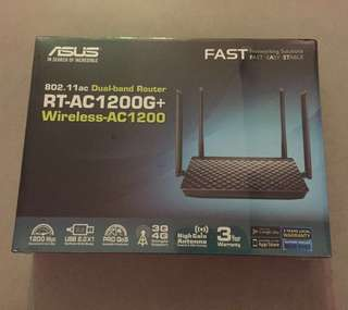 BNIB Asus Wireless AC 1200 Dual-Band Router