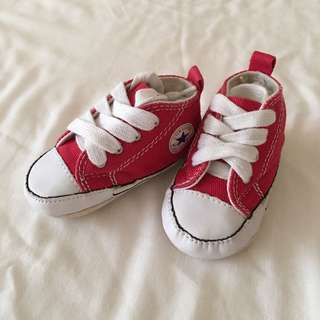 Authentic Converse Baby Shoes