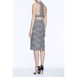 Life With Bird Jacquard dress