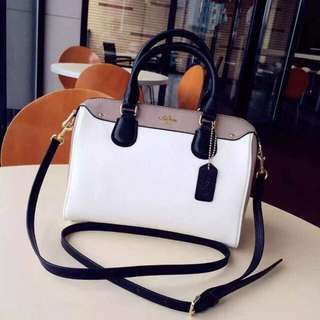 COACH Color Block Mini Bennett Satchel