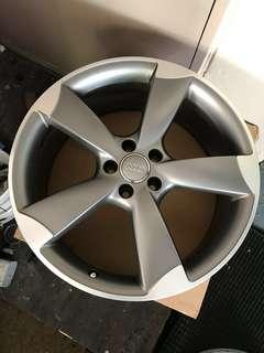Original Authentic Audi 20inch RS5 5 Blade Rims!