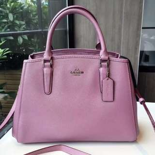 Coach Small Margot Carryall - Pink