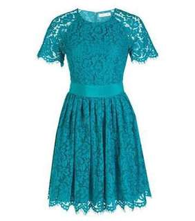 Alannah Hill Green Lace Dress
