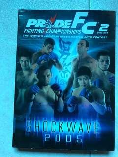 Pride fc shockwave 2005 dvd