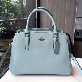 Coach Small Margot Carryall - green