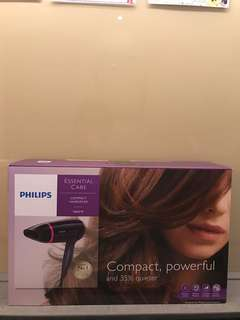 BN authentic Philips Essential care compact hairdryer