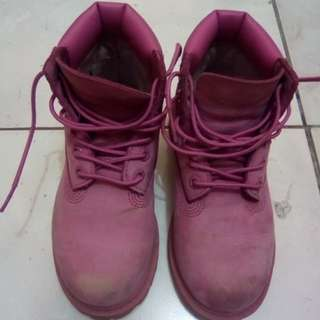Original Pink Boots