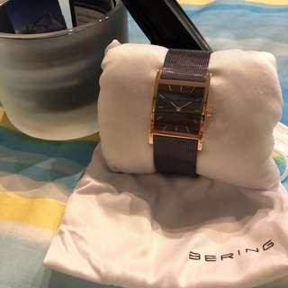 Brand new Bering ladies mesh bracelet watch