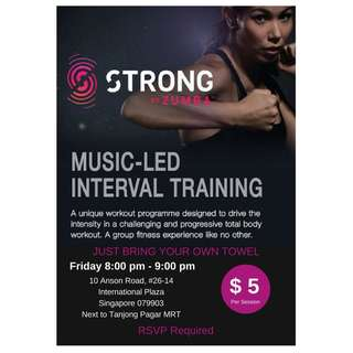 Strong by Zumba @ IP