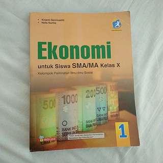 Buku Ekonomi Kelas X (Yrama Widya)