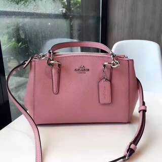 Coach Mini Christie Carryall - pink