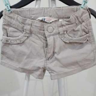 H&M Sexy gray short