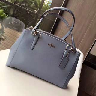 Coach Small Christie Carryall - blue