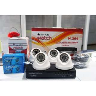 CCTV Budget HD Package with 1TR Storage (4  D031W Camera)