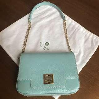 Kate Spade 湖水藍shoulder bag