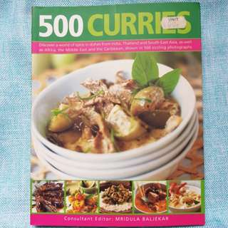 500 curries book