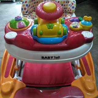 Baby 1st 2n1 Baby Walker and Racking chair