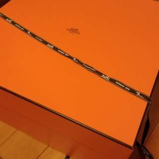 Authentic Hermes Leather Garden Party 36cm In Etoupe Negonda
