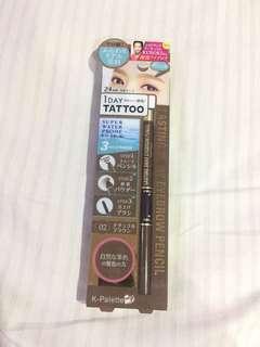 K-Palette Lasting 3 Way Eyebrow Pencil