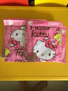"""💞New Arrivals💞Adorable Hello Kitty Luggage Cover❗️do refer to photos) Size S suit 19-21"""", M suit 22-24"""", L suit 24-26"""". Stretchable, washable & to protect your luggage from scratches❗️selling at $17, $18, $19 respectively 😆"""