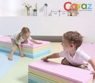 Caraz 4段 遊戲墊 摺疊遊戲墊