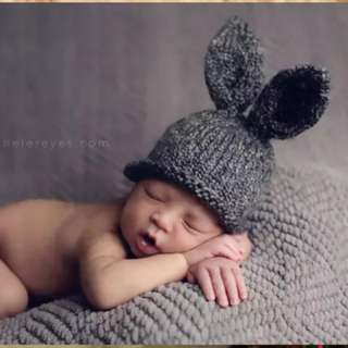 Baby hat for photoshooting