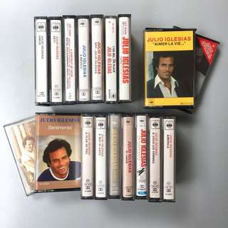 Julio Iglesias Audio Cassette Tape