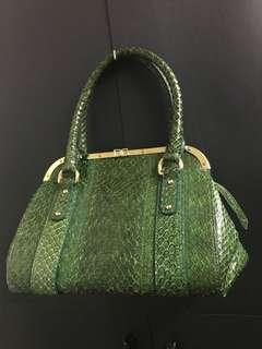 D&G Phyton Satchel Handbag