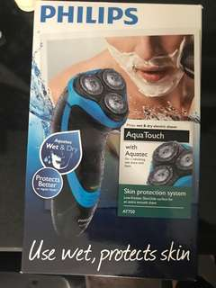 Philips aqua touch (almost new)electric shaver