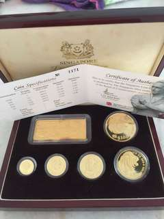 Lion 9999 proof  gold coins 😀😀😀😀👍👍👍