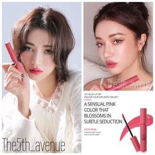 [Instock] 3CE Velvet Lip Tint - Pink Break [Authentic]