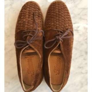 Sepatu FTALE Suede Brown