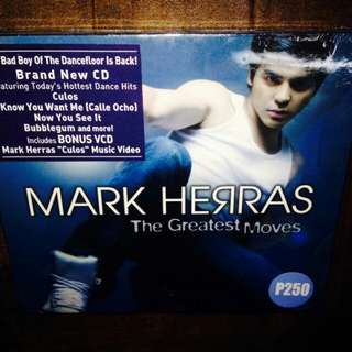 Mark Herras-The Greatest Moves (CD+VCD)(Sealed)