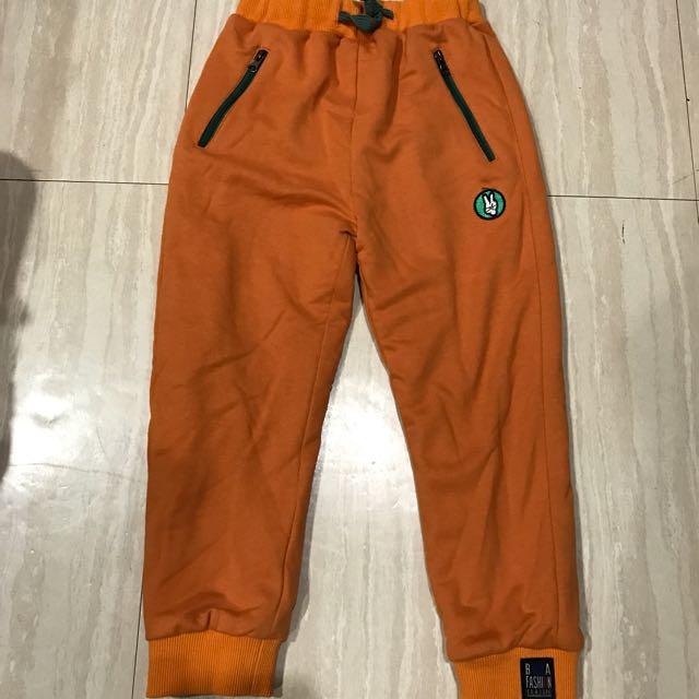 $100全新棉質內刷毛保暖長褲