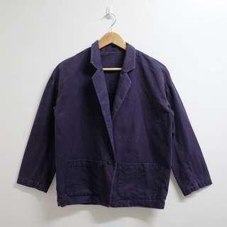 Purple Work Coat
