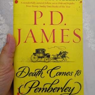 Paperback - Death Comes to Pemberley by P. D. James