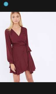 wrap dress (Zimmermann style)