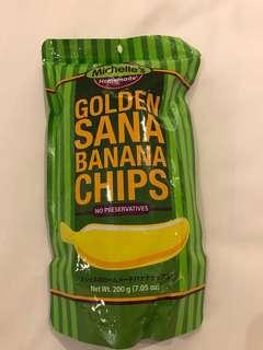 Golden Sana Banana Chips