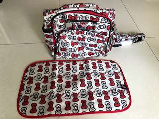 Ju Ju Be hello kitty diaper bag