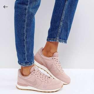 Nike x 國外限定款 x 乾燥玫瑰 x粉色運動鞋 x trainers#運動用品可超取 asos購入#大掃除五折#新春八折#換季五折