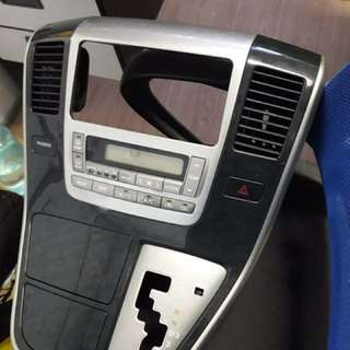 Toyota Alphard Air-cond Digital Control
