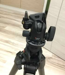 Manfrotto 494 RC2 ball head.