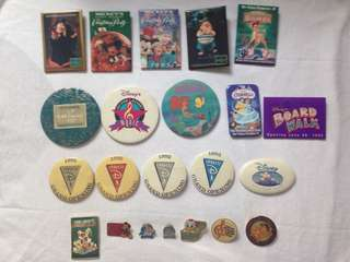 Disney Pins and Cards