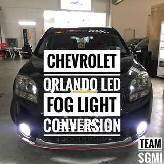Chevrolet Orlando Done !**LED Fog Light Installed! Installation Included!**
