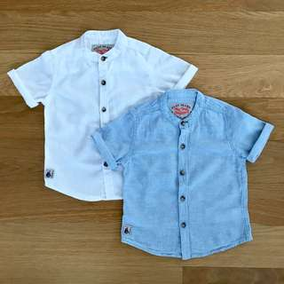next baby boy shirt (pack of 2)